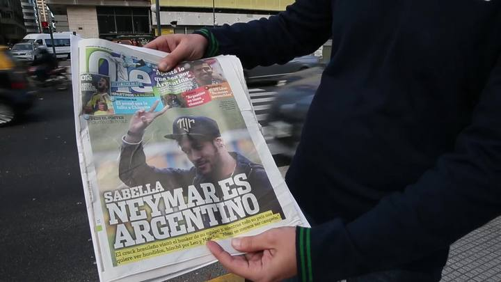 A expectativa argentina pelo tricampeonato