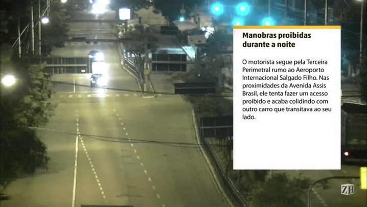 Infrações de trânsito: manobras proibidas