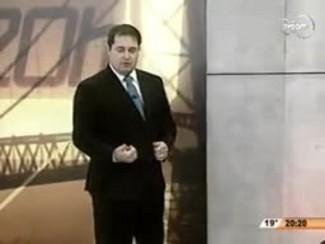 TVCOM 20 Horas - Governo Rompe Contrato com Construtora da Ponte Hercílio Luz - 2ºBloco - 19.08.14