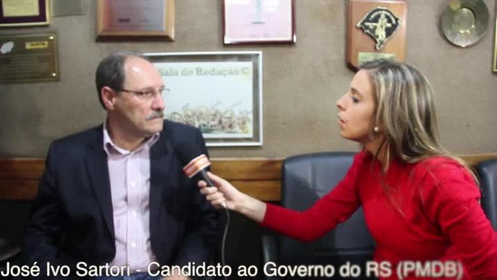 Fala candidato: Política para mim é seriedade, diz Sartori