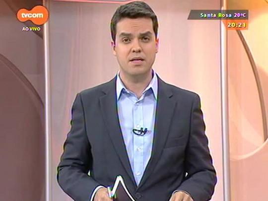 TVCOM 20 Horas - Candidato do PT ao governo Tarso Genro visita as redações do Grupo RBS e concedeu entrevistas. Confira uma seleção de trechos - Bloco 2 - 13/10/2014