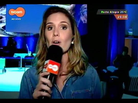 TVCOM Tudo Mais - Gabriella Bordasch entrevista Elza Soares. Confira!