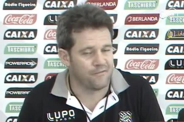 TVCOM Esportes - Técnico Argel Fucks fala sobre montagem da equipe na reapresentação do Figueirense - 7.1.15