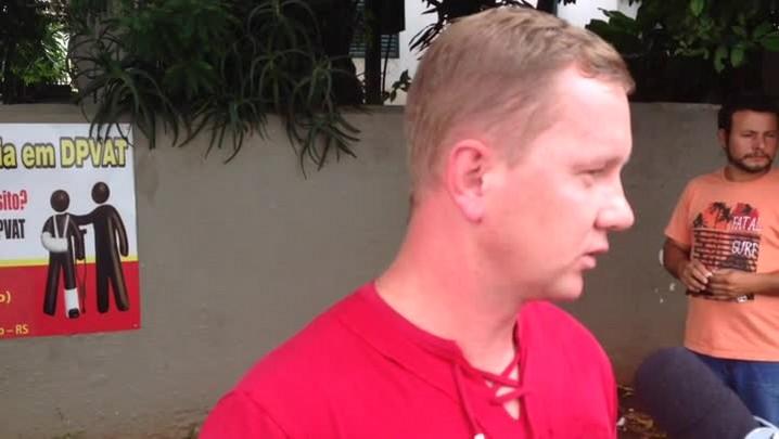 Confira o relato de Ilton Utzig, vítima do acidente