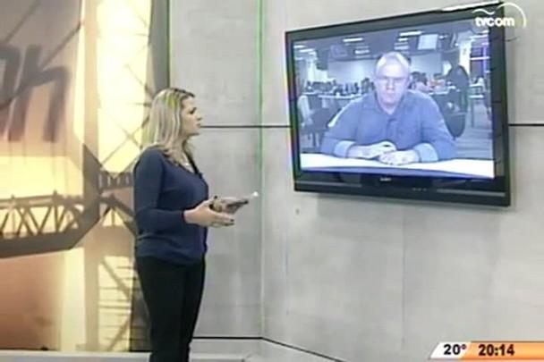 TVCOM 20 Horas - Dilma visitará áreas atingidas por tornado em SC - 23.04.15
