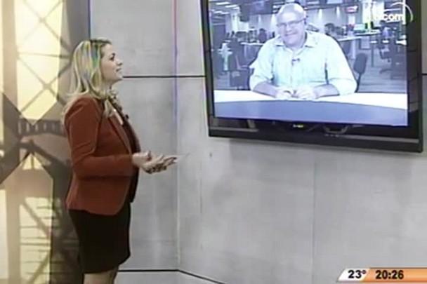 TVCOM 20 Horas - Caminhoneiros encerraram protestos em Santa Catarina - 24.04.15