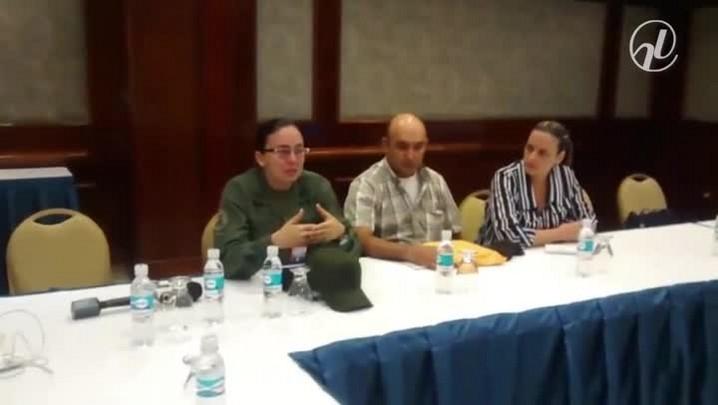 Senadores têm encontro com vítimas de confrontos na Venezuela
