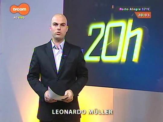 TVCOM 20 Horas - O adeus a Nico Fagundes, ícone da cultura gaúcha - 25/06/2015