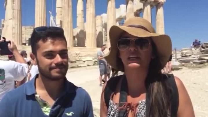 Crise não interfere no turismo na Grécia