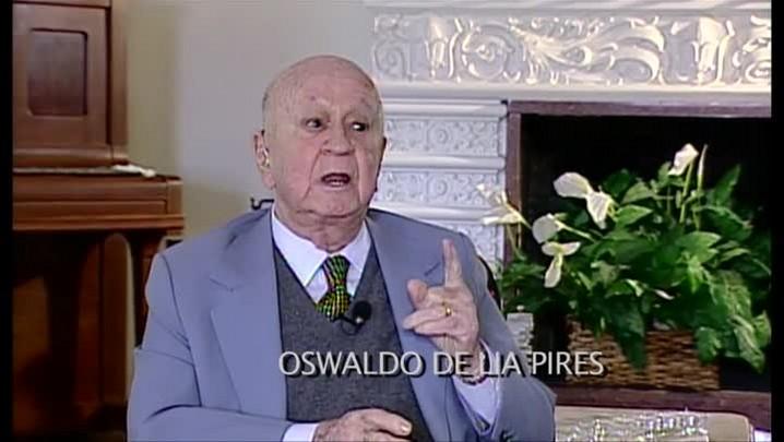 Oswaldo de Lia Pires – Sobre o Direito Penal – Entrevista concedida à TVCOM em 2008