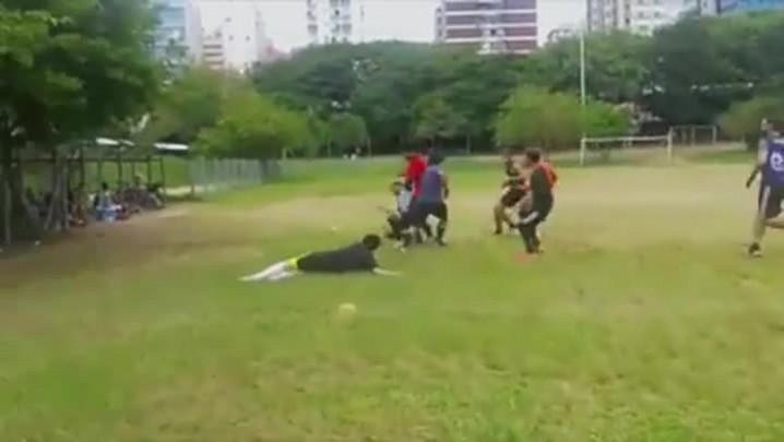 Treinamento do Porto Alegre Crows