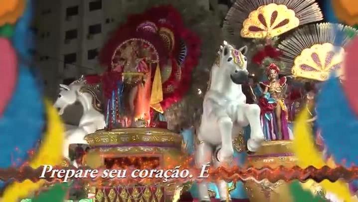 Samba-enredo da escola Aliança, do Carnaval de Joaçaba