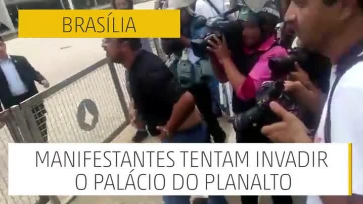 Brasília: manhã de manifestações em meio à crise política