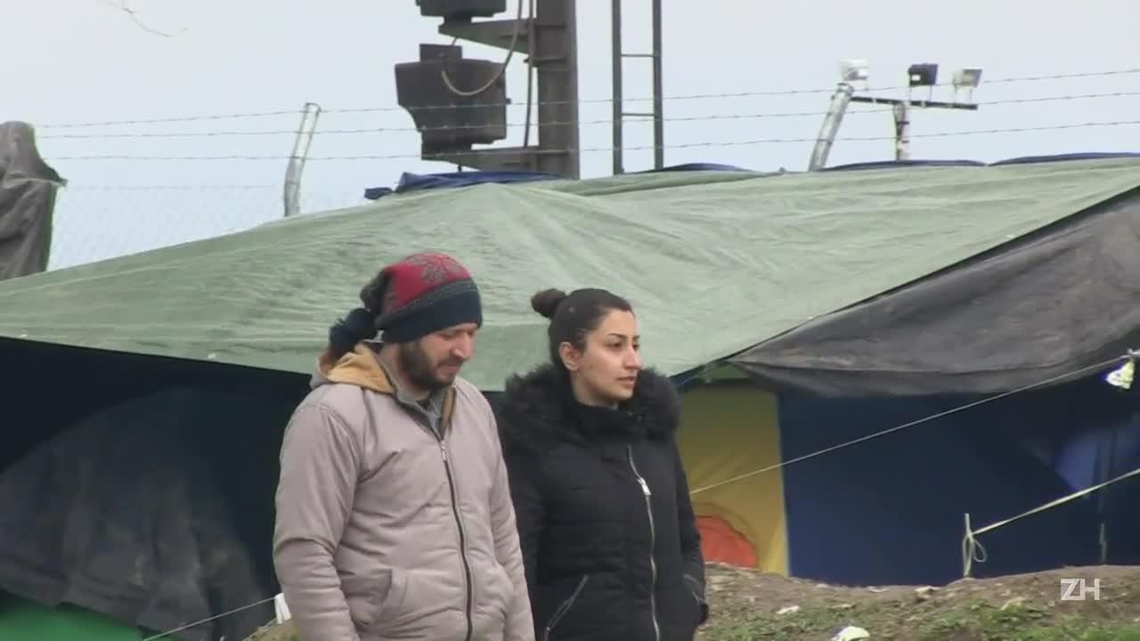 Refugiados denunciam condições precárias em Idomeni