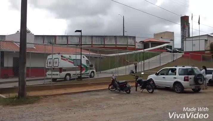 Seis detentos fogem do Presídio Regional de Joinville