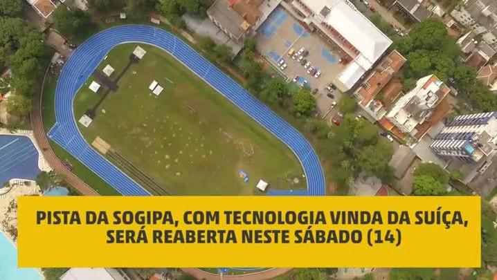 Nova pista da Sogipa será reaberta no sábado (14)