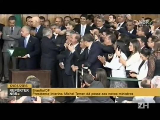 Veja o primeiro discurso de Temer depois da posse