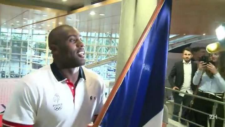 Campeão do judô vai carregar bandeira francesa no Rio