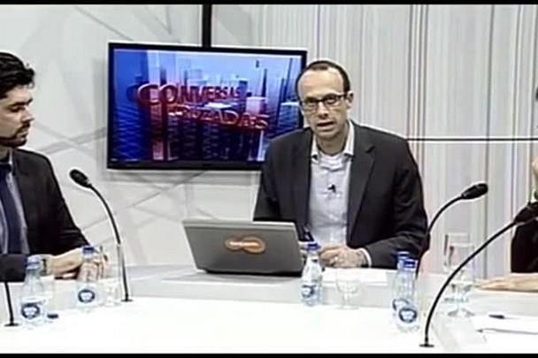 TVCOM Conversas Cruzadas. 4º Bloco. 04.08.16