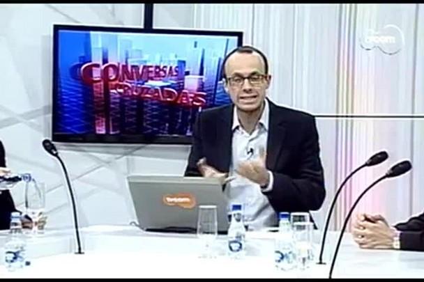 TVCOM Conversas Cruzadas. 2º Bloco. 30.08.16