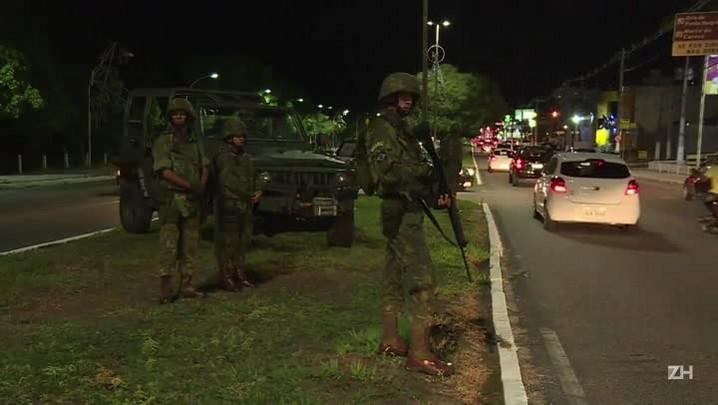Militares começam a patrulhar Natal em 7º dia de rebelião