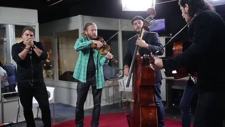 Música na Redação: Conjunto Bluegrass Porto-alegrense