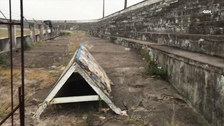 Pelas Ruas: Estádio Antônio Sessim padece em Cidreira