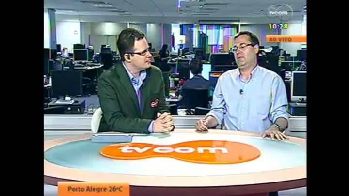 Candidato Roberto Robaina em entrevista à TVCOM