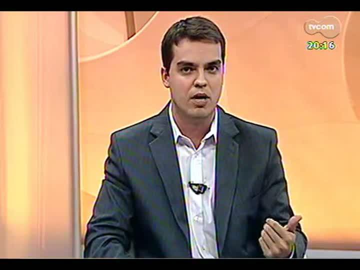TVCOM 20 Horas - 14/01/2013 - Bloco 2 - Extração ilegal de areia no Rio Jacuí