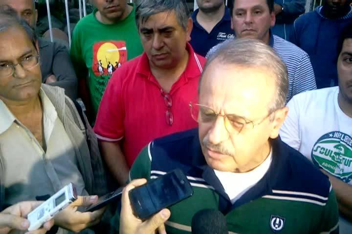 Governador do RS fala após reunião com taxistas