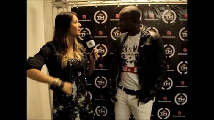 Thiaguinho no Inovafest Poa - Entrevista exclusiva Rádio Cidade