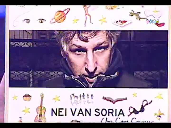 Programa do Roger - Músico Nei Van Soria fala sobre seu novo disco: \'Um cara comum\' - bloco 3 - 15/05/2013