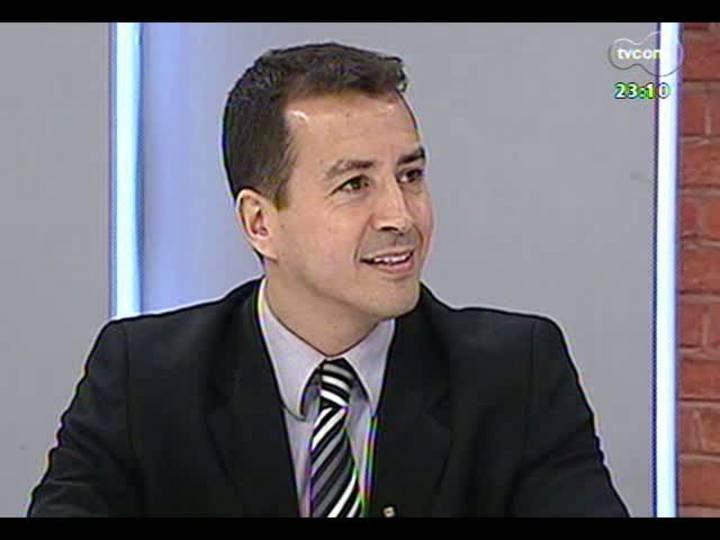 Mãos e Mentes - Superintendente regional da Polícia Federal, Sandro Caron - Bloco 2 - 19/05/2013