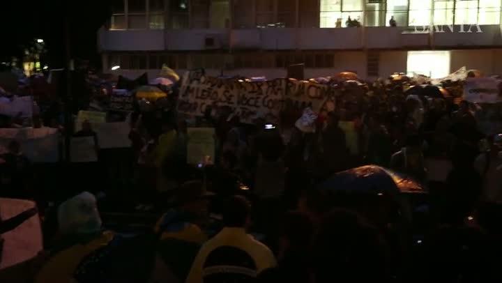 Blumenau protesta