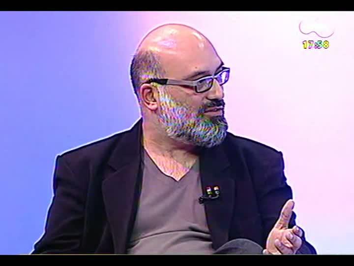 Programa do Roger - Diretor Jaime Lerner dá curso sobre estética de documentários - bloco 2 - 01/07/2013