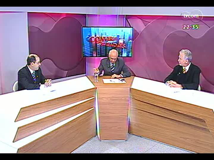 Conversas Cruzadas - Prefeito José Fortunati avalia protestos e fala sobre transporte público, médicos e outros temas - Bloco 2 - 18/07/2013