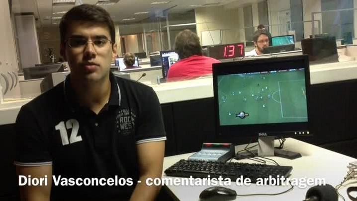 "Diori Vasconcelos: \""gol de Luan foi legal\"""