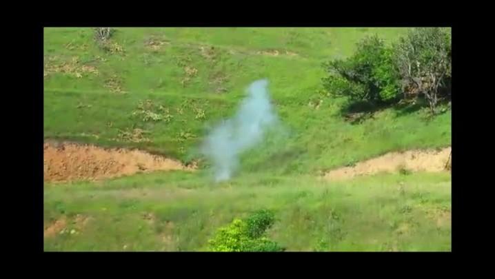 Explosão de artefatos em Presidente Nereu