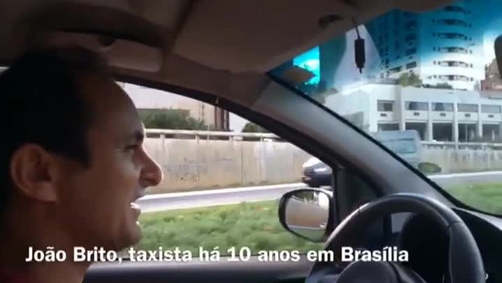 Estrangeiros são recebidos com tranquilidade e calor em Brasília - 15/06/2014