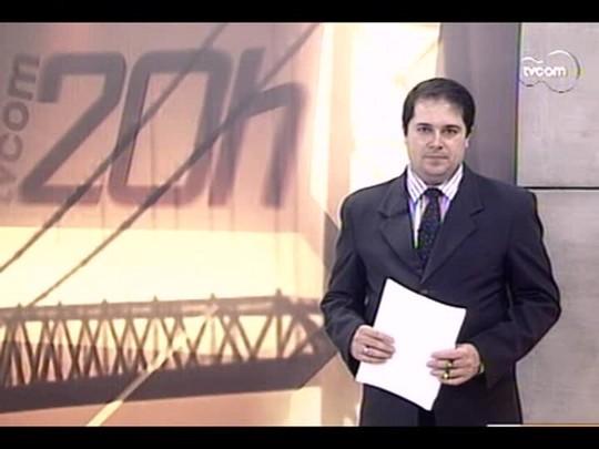 TVCOM 20 Horas - Segundo dia de ocupação da PM no Morro da Caixa em Florianópolis - Bloco 2 - 27/06/14