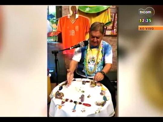 Pai Danilo faz suas previsões para o jogo Brasil X Chile