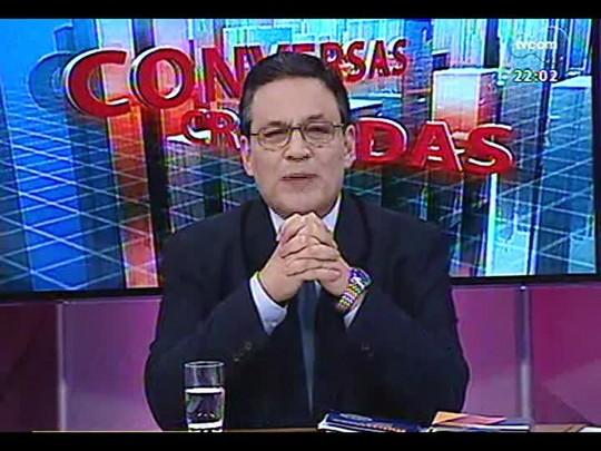 Conversas Cruzadas - Uso de algemas em audiências divide o Judiciário gaúcho - Bloco 1 - 15/07/2014