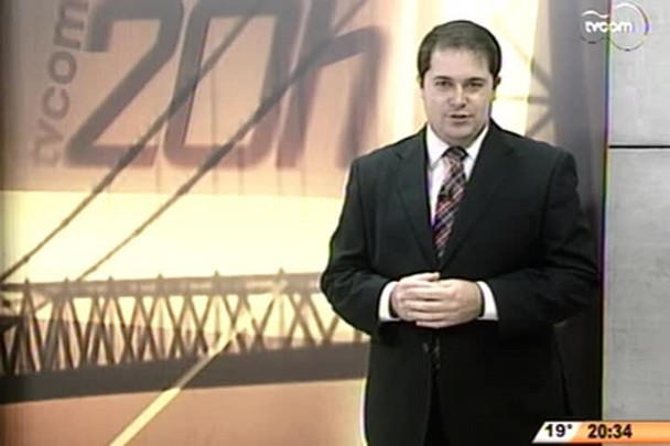 TVCOM 20 Horas - Candidato á Presidência da República virá para Santa catarina - 3º Bloco - 22/07/14