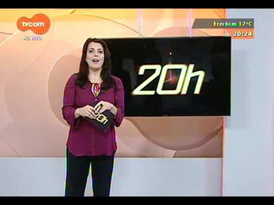 TVCOM 20 Horas - A crise financeira de cooperativas agropecuárias do estado - Bloco 3 - 30/09/2014