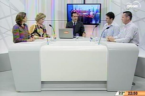 Conversas Cruzadas - Capital recebe seminário de inovação tecnológica em turismo - 4º Bloco - 28.04.15