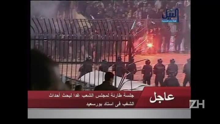 Egito condena 11 pessoas à morte por massacre em estádio