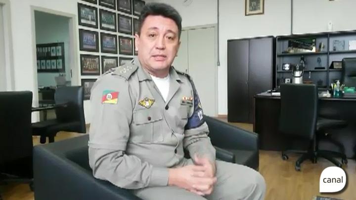 Subcomandante do 12º Batalhão de Polícia Militar fala sobre negociação de paralisação