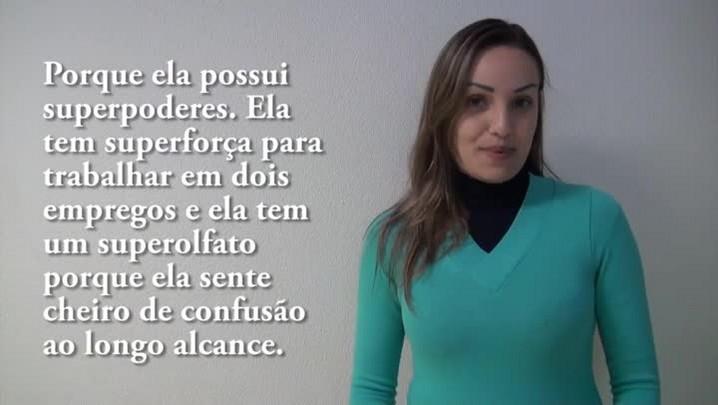 Minha mãe é manchete de jornal: frase da Fernanda