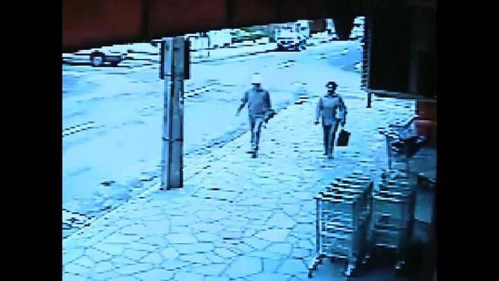 Câmeras de segurança registram diversos acidentes de moto em Santa Maria