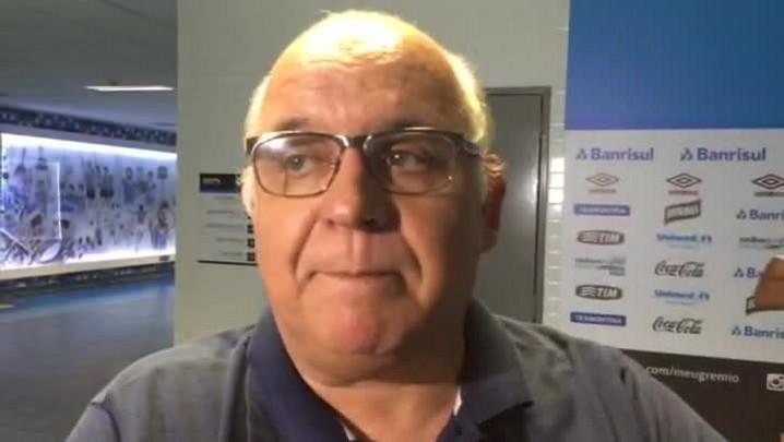 Romildo Bolzan fala sobre renovação de Roger com o Grêmio